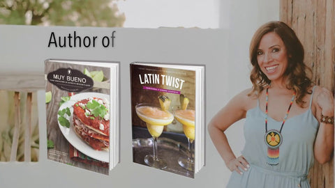 Yvette Marquez Sharpnack author of Muy Bueno and Latin Twist Cookbooks
