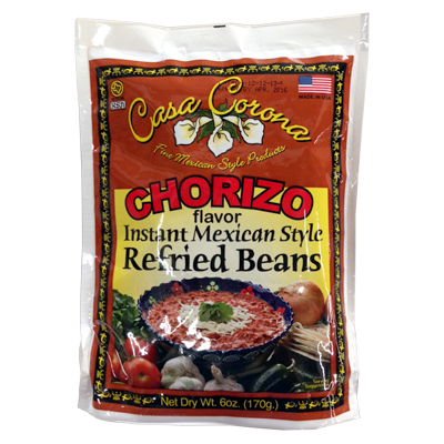 Mexican Refried Beans with Chorizo | Frijoles de chorizo