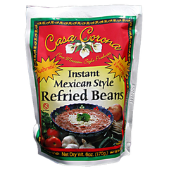 Instant Refried Beans | Frijoles Refritos Instantáneos