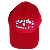 Claude's Sauces Ball Cap. Perfect for grilling under a hot sun.