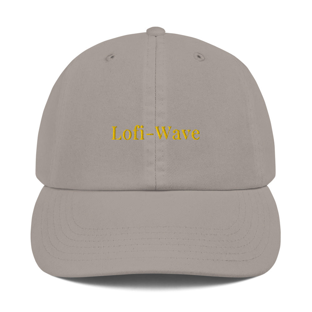 Embroidered Royalty Lofi-Wave Champion Dad Cap