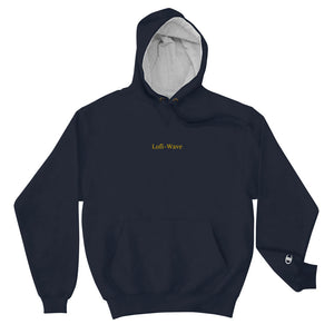Embroidered Men's Royalty Lofi-Wave Champion Hoodie