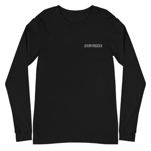 New Phase Long Sleeve (Unisex) Embroidered Logo