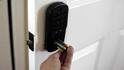 Touchscreen Yale Electronic Lock Naples Florida install