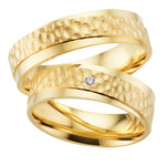 Trauringe Golden Love in Gelbgold 585/- Legierung