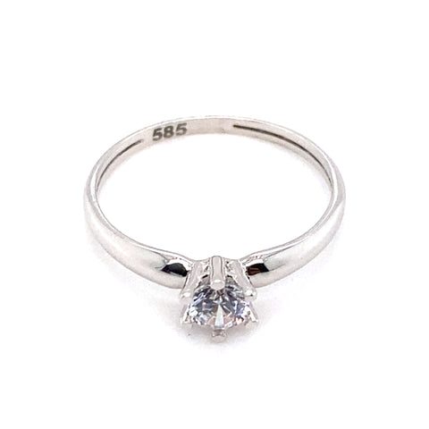 Ring 585/-Zirkonia