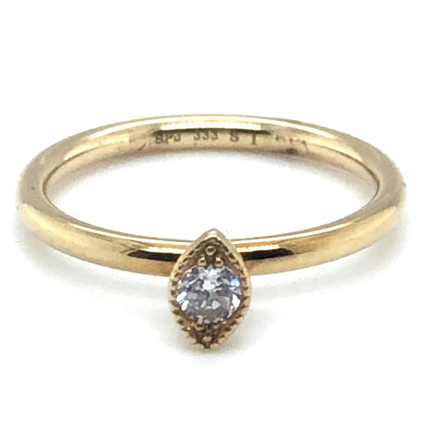 Ring 333/-Gelbgold