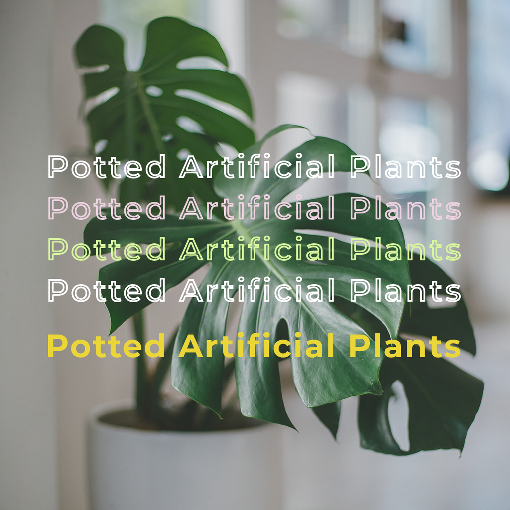 Potted Artificial Plants