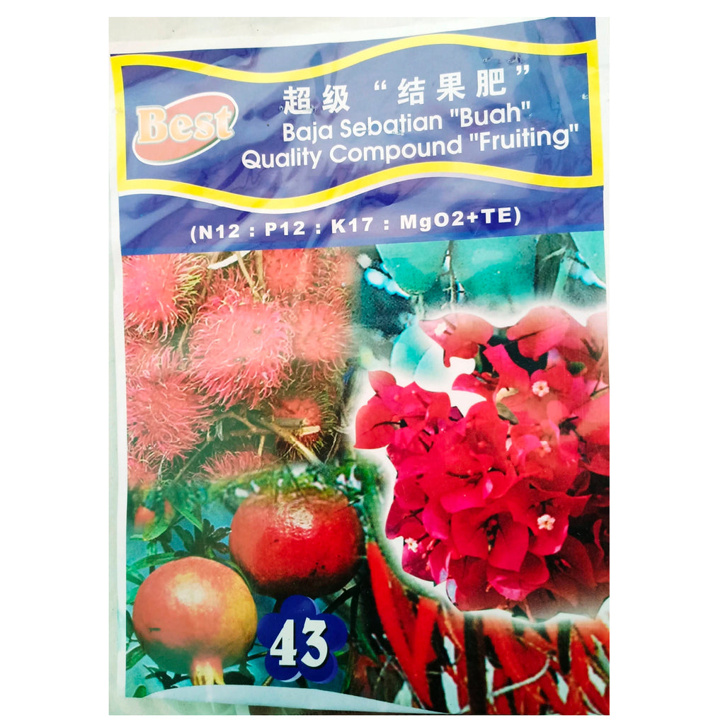 NPK solid fertilizer for Fruiting 43 (400g)