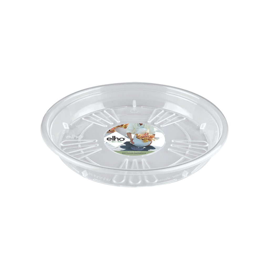 Uni-saucer Round 25cm in transparent