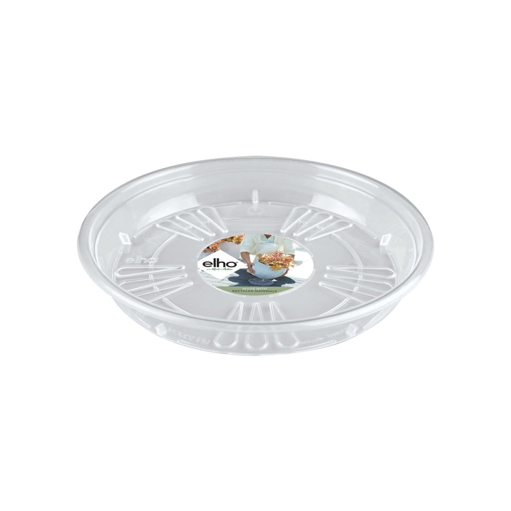 Uni-saucer Round 33cm in transparent