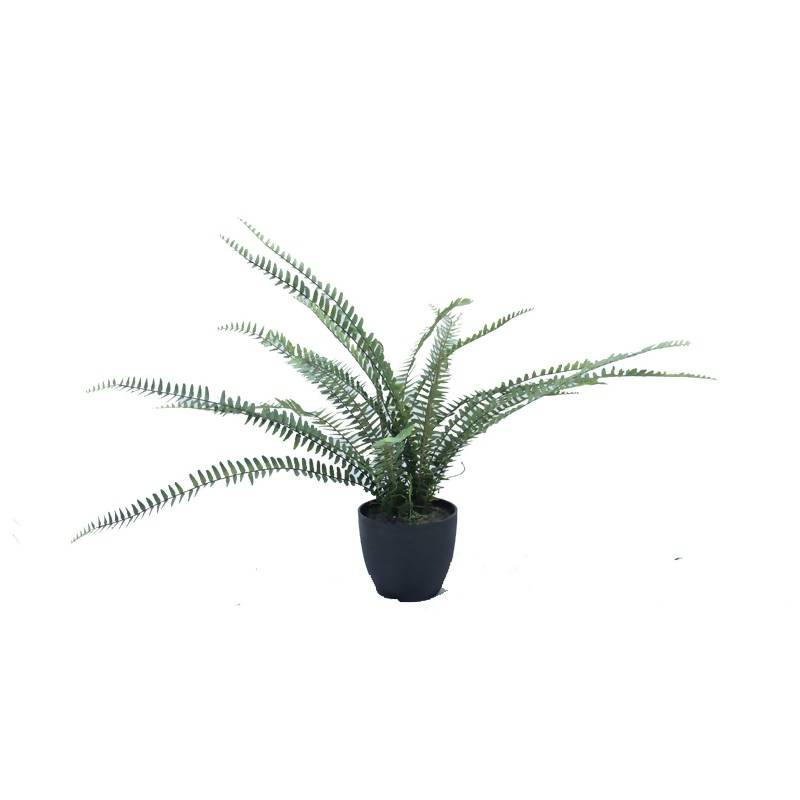 Artificial Boston Fern with Fake Soil (0.6m)