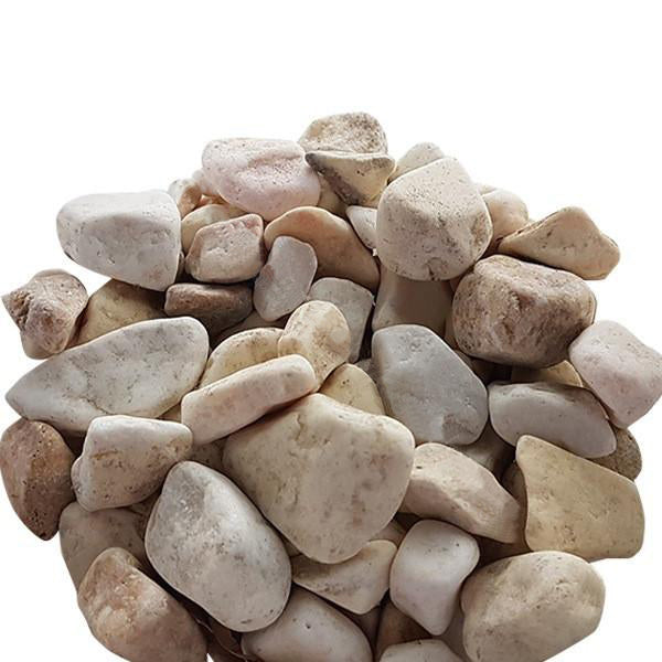 Assorted Pebbles in Yellow, 20kg