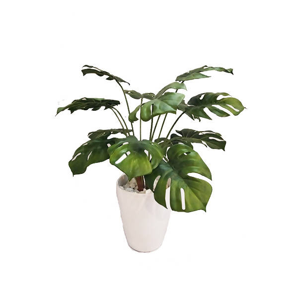 Artificial Potted Monstera Plant (0.65m)