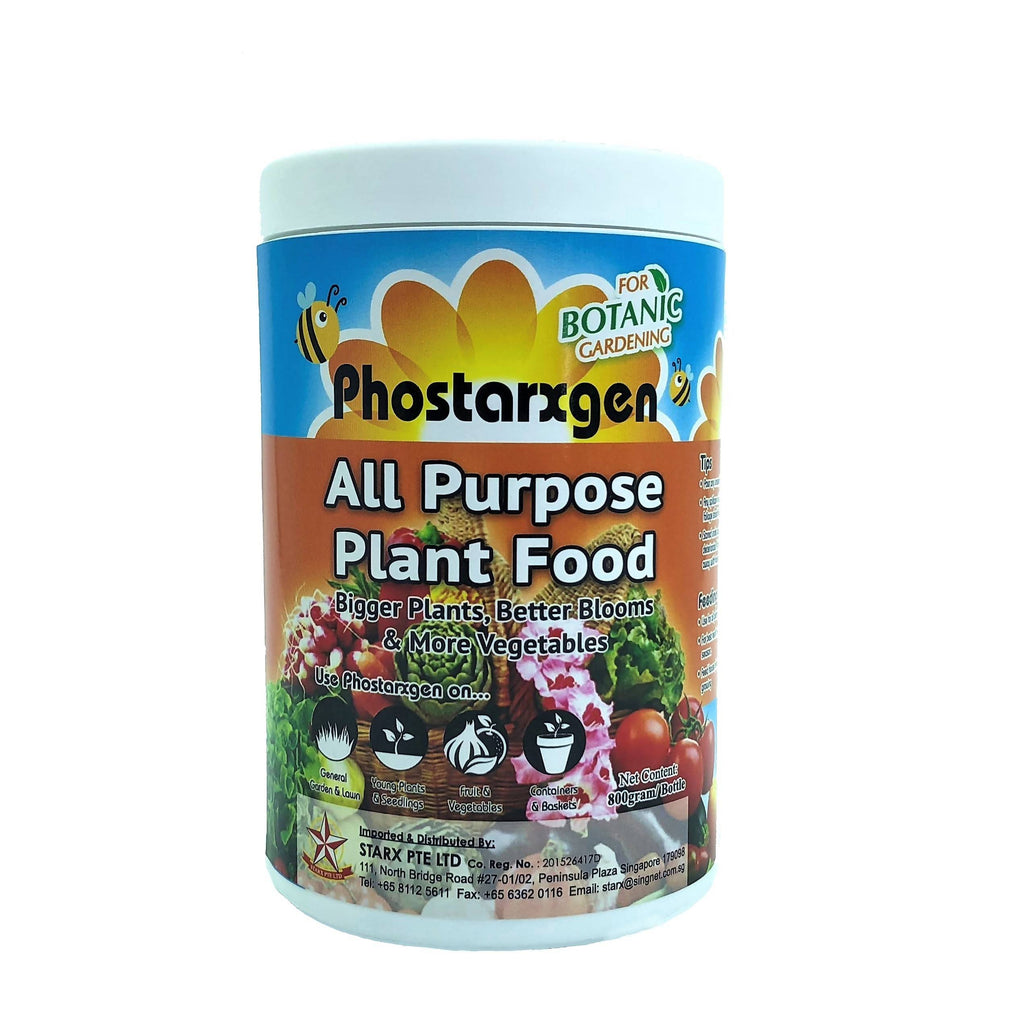 Phostarxgen All Purpose Plant Food, Soluble Fertiliser (800g)