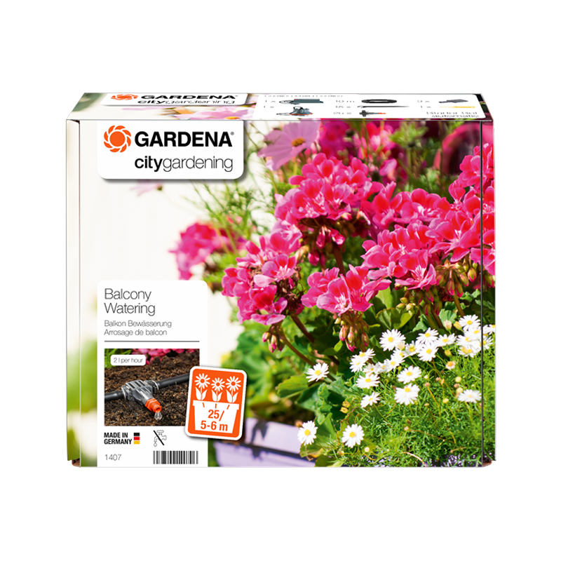 GARDENA Micro-Drip-System Fully Automatic Flower Box Watering G1407