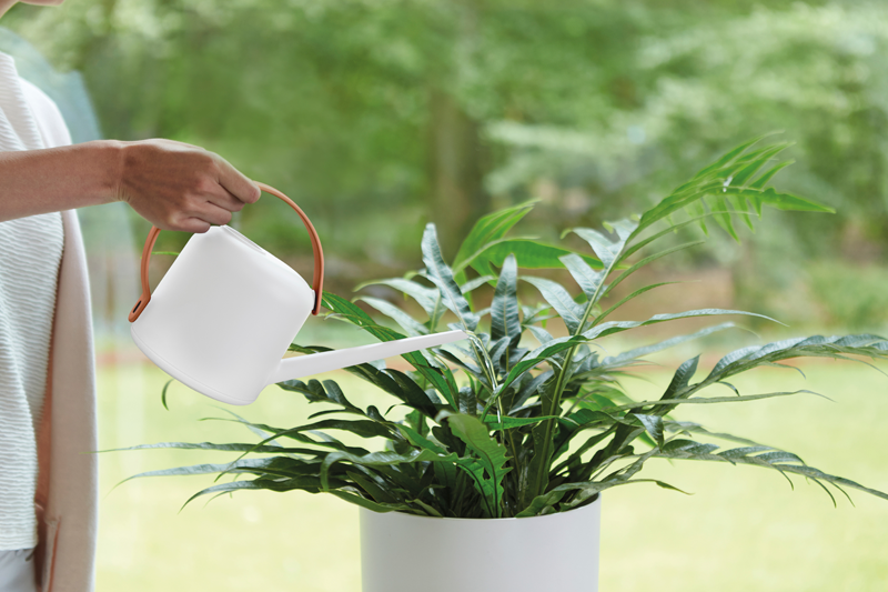 B. for soft watering can 1.7ltr in white