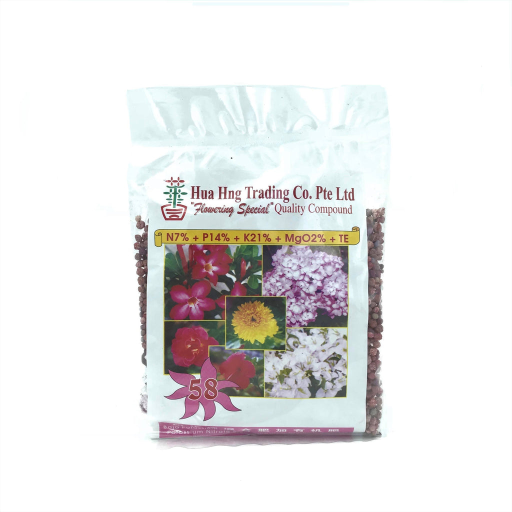 NPK Solid Fertiliser 58, Flowering Special (300g)