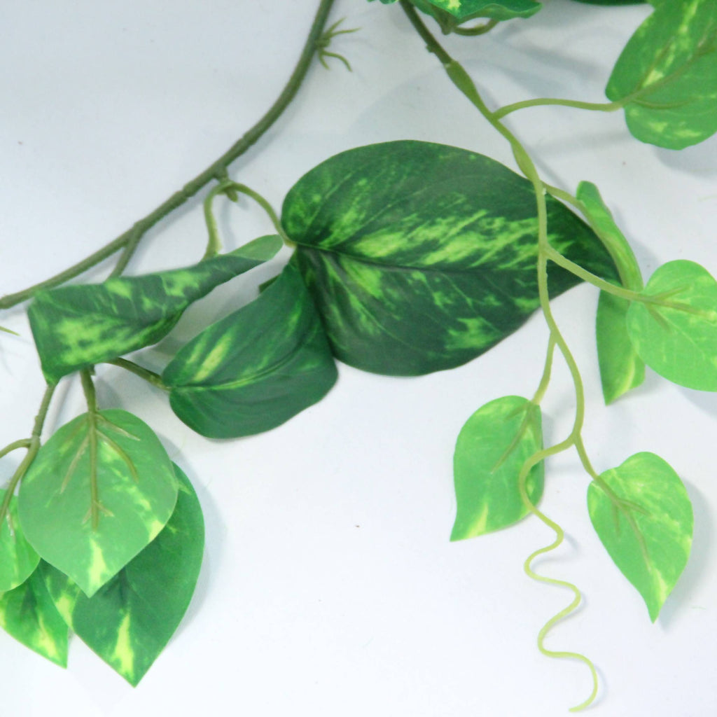 Artificial Green Stem Money Plant Garland (1.8m)