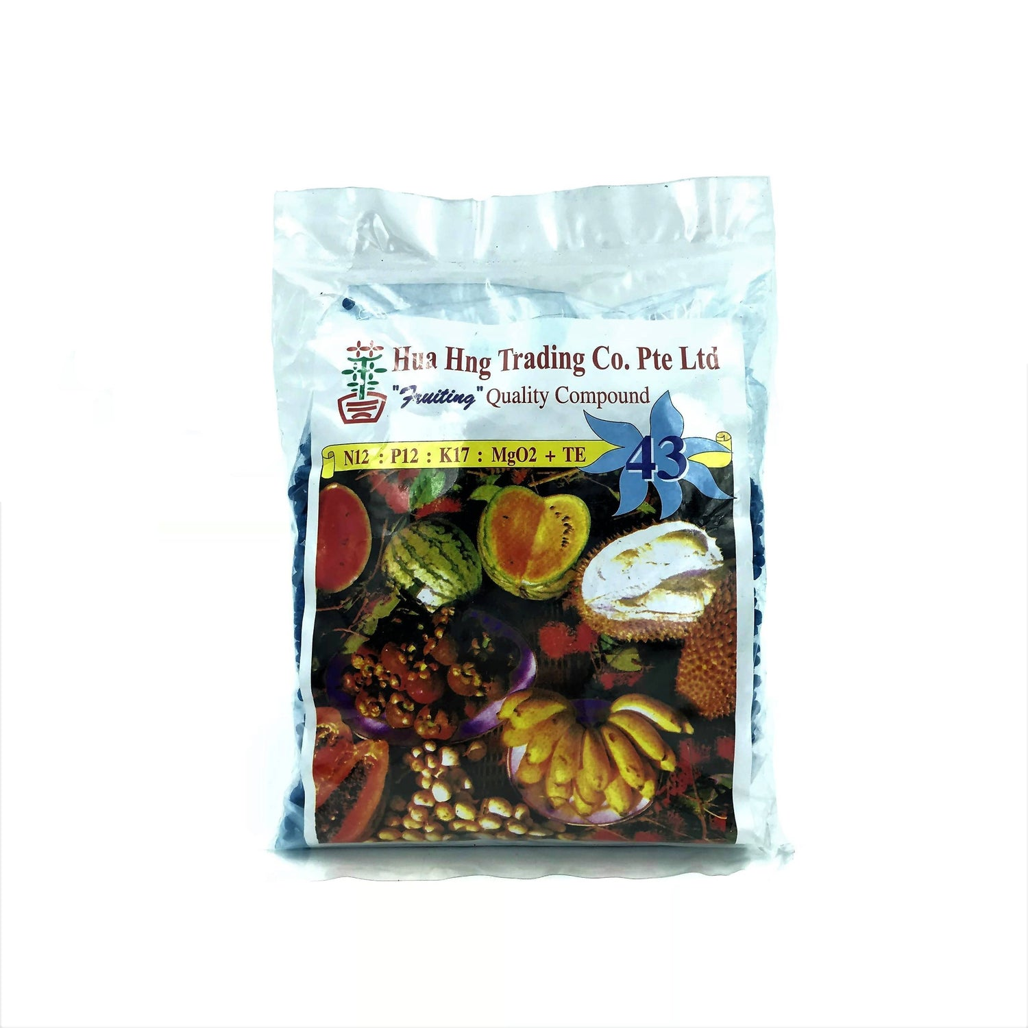 NPK Solid Fertiliser 43, Fruiting (400g)