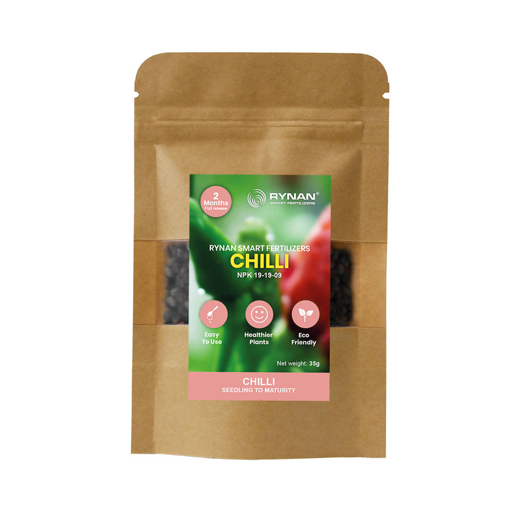 RYNAN SMART FERTILIZER for Chilli (Seedling to Maturity) (35g)