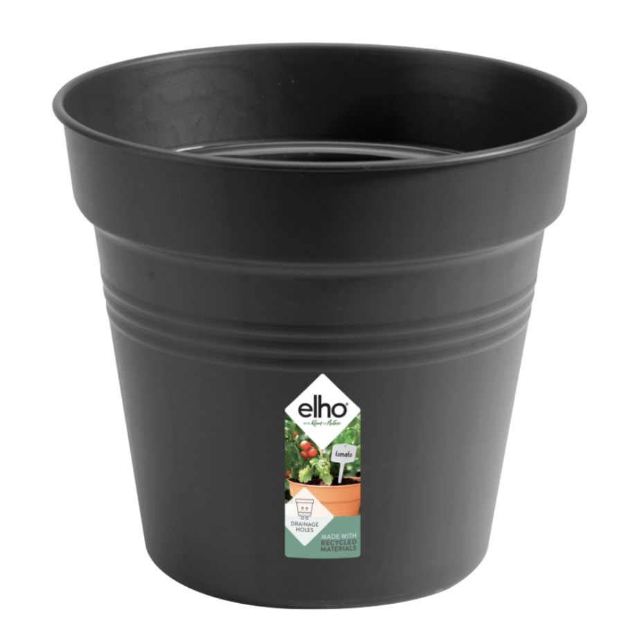 Green Basics Growpot 35cm in Living Black