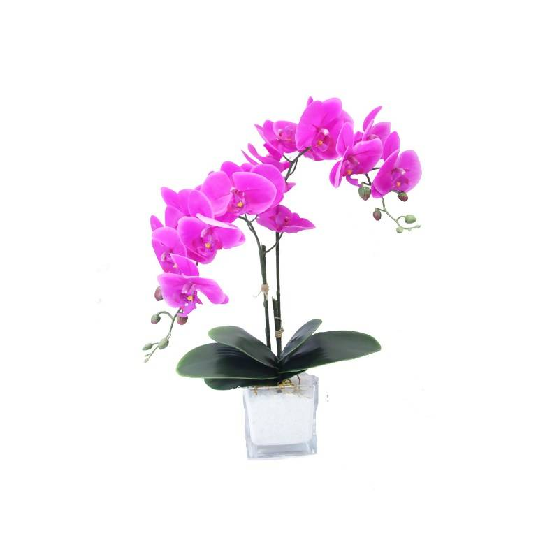 Artificial Purple Phalaenopsis Orchid Arrangment (0.55m)
