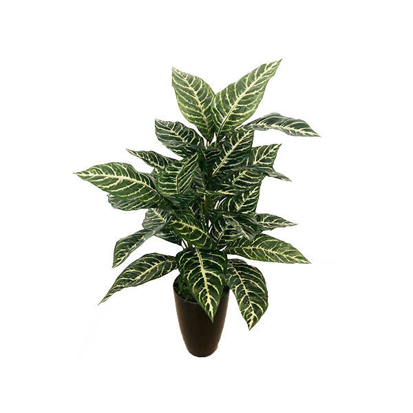 Artificial Potted Zebra Plant (0.8m)