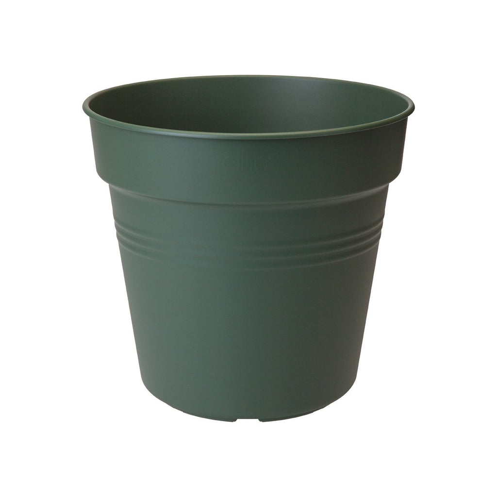 Green Basics Growpot 21cm in Leaf Green with 17cm Saucer