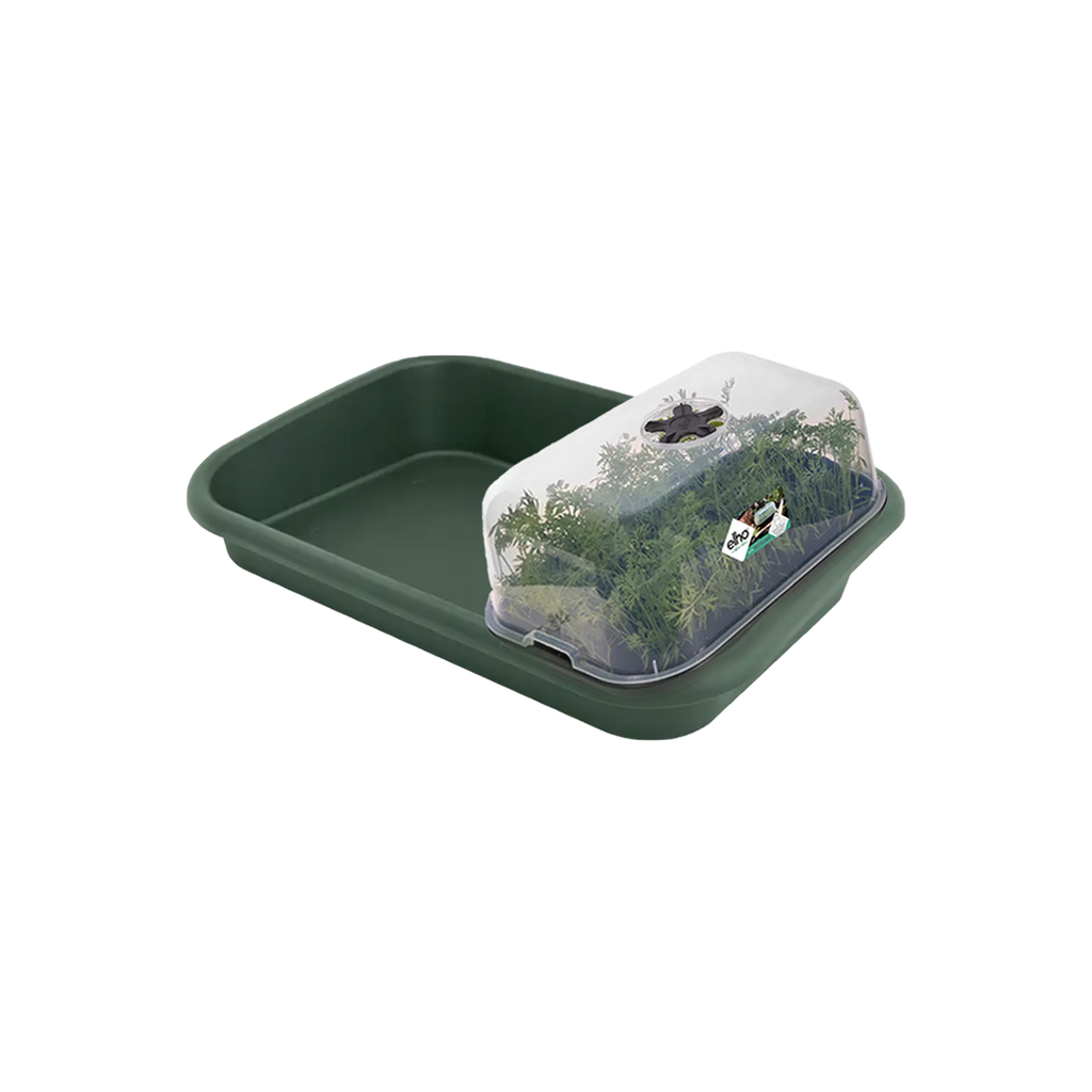 Green Basics Grow House M in Leaf Green with Tray
