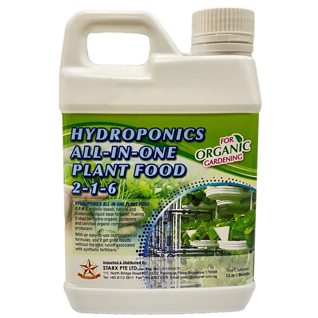 Hydroponics All-In-One Plant Food (1Ltr)