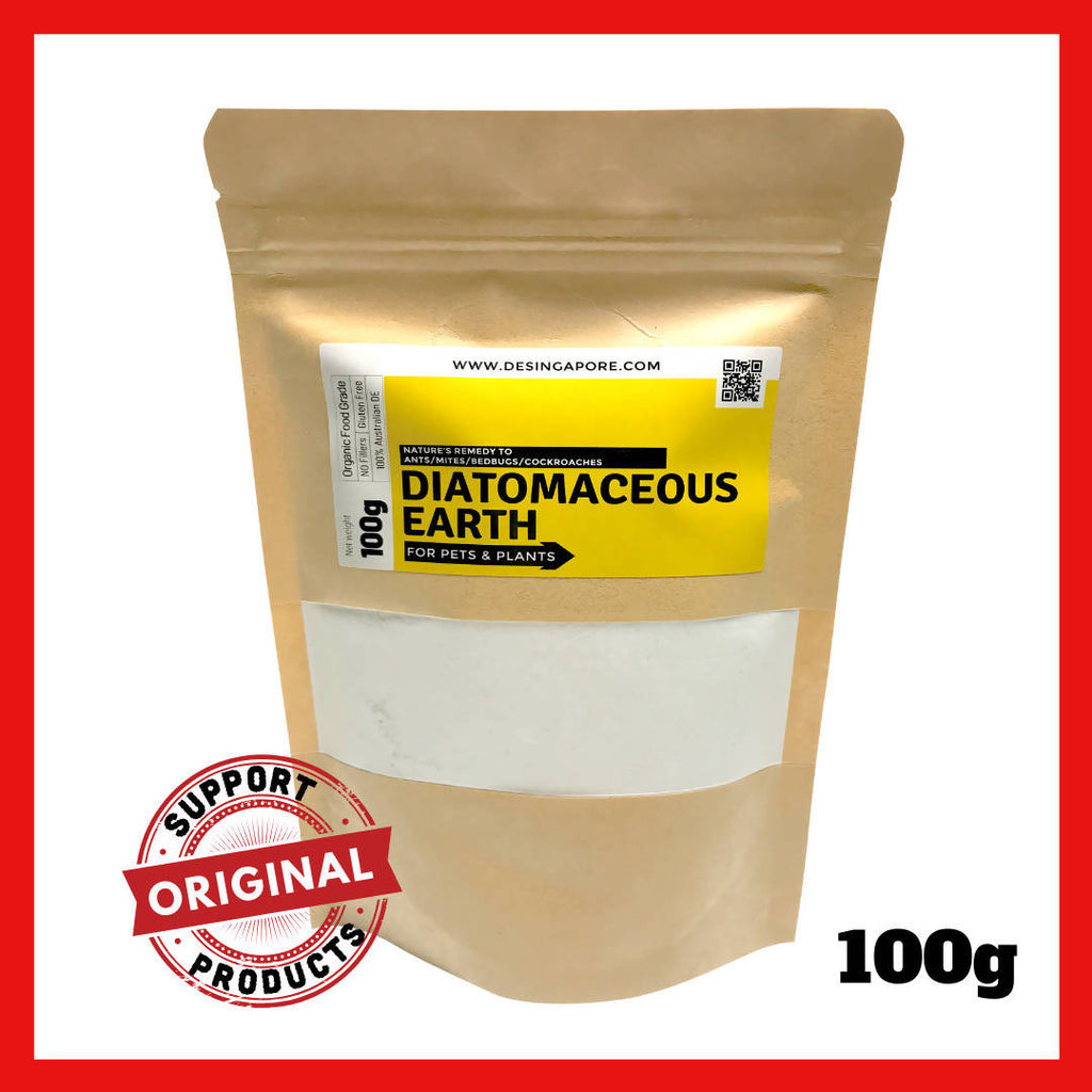 DENutrients 100% Food Grade Diatomaceous Earth (100g)