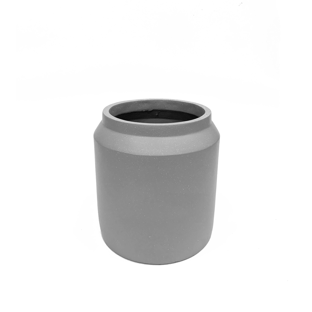 Milan Planter S in Grey