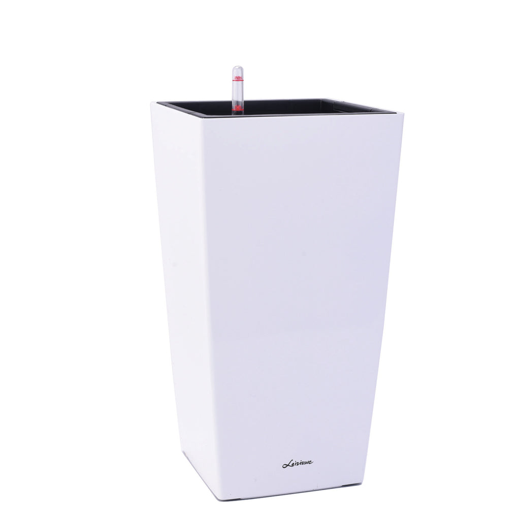Square Cylinder Series 39cm in white