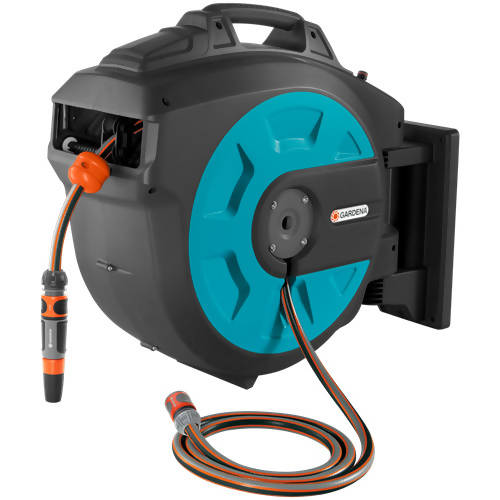 GARDENA Wall-Mounted Hose Box 35 roll-up automatic G8024