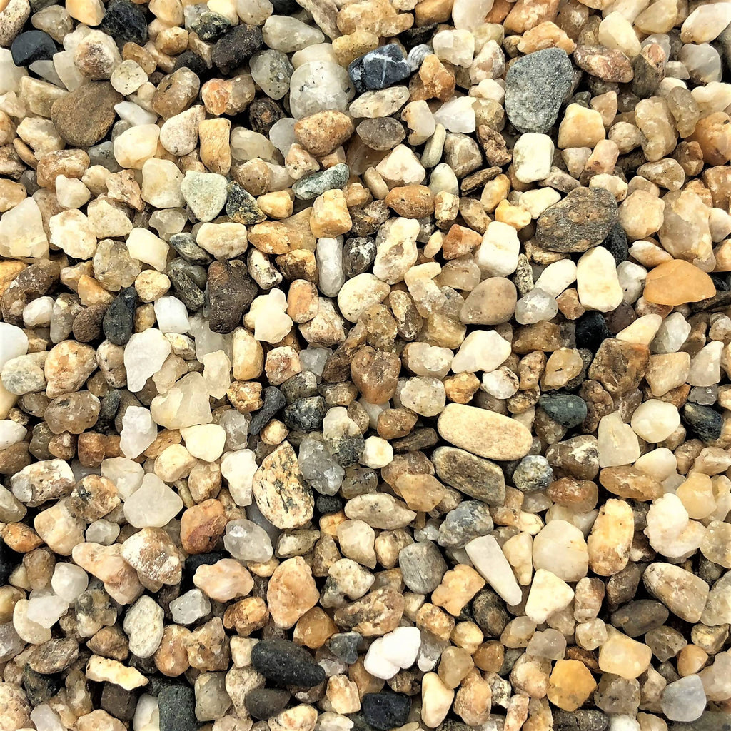Decorative Stone Chips, Natural Golden Brown (0.5L)