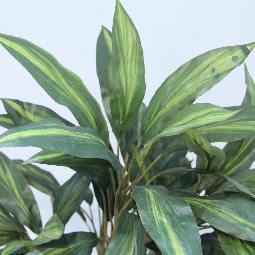 Artificial Dracaena Plant with Brown Plastic Pot (0.85m)