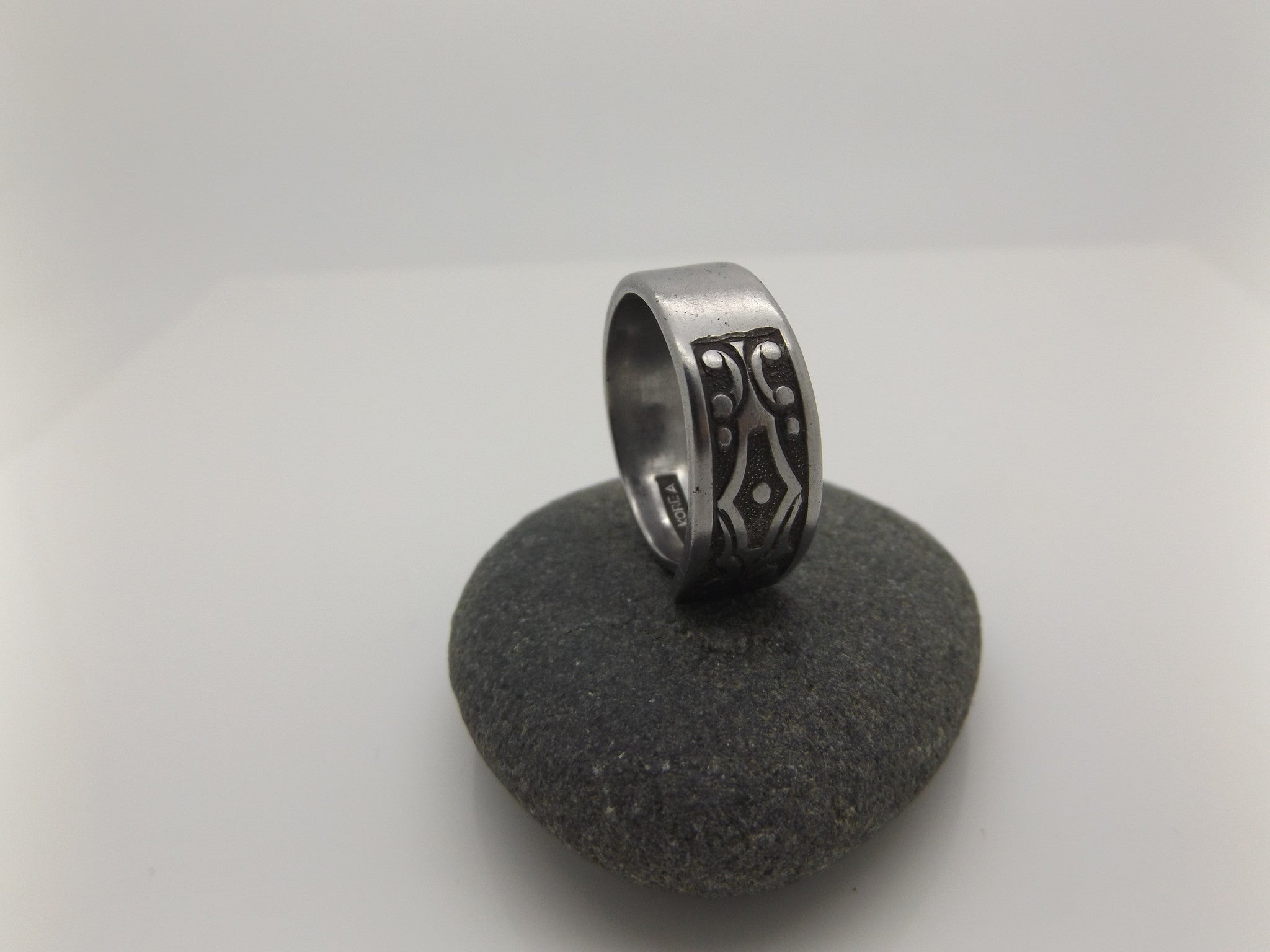 Retro spoon ring for him