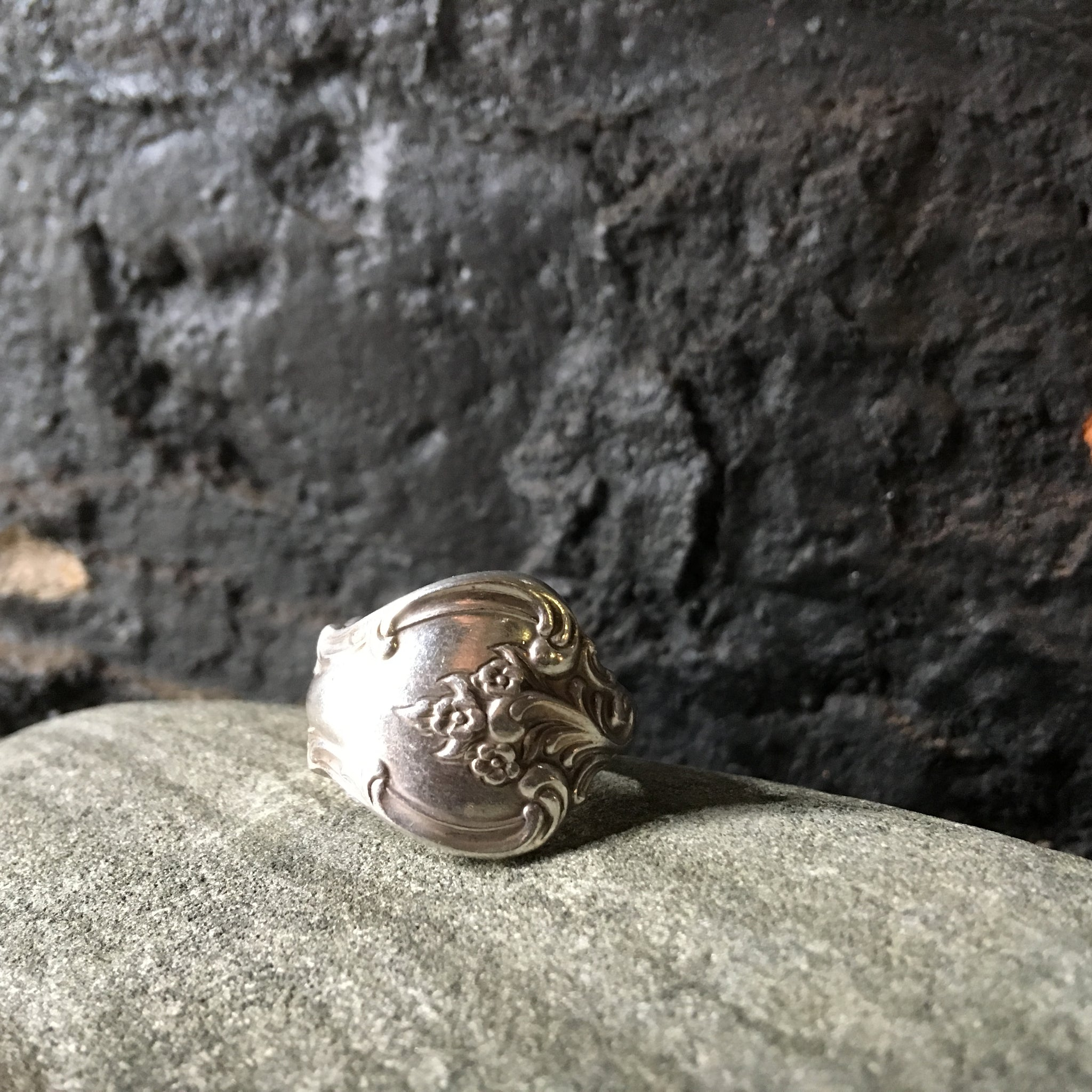 Vintage spoon ring handcrafted