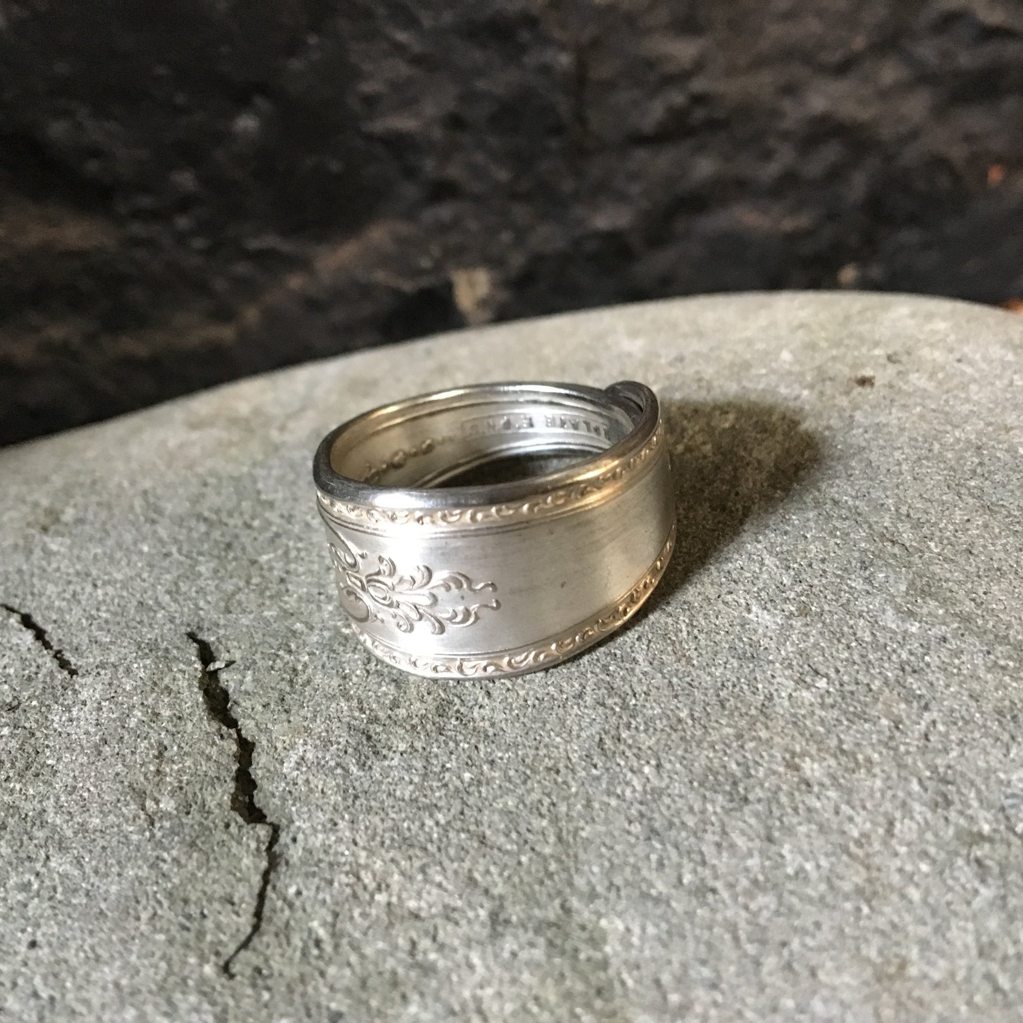 A spoon ring for him