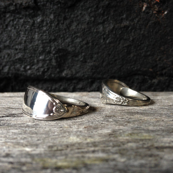 Bespoke spoon ring handcrafted from your spoon