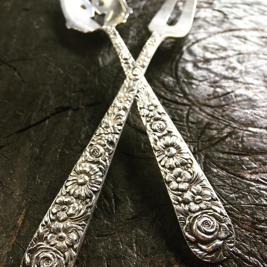 Bespoke spoon handle ring & scoop pendant handcrafted from your spoon