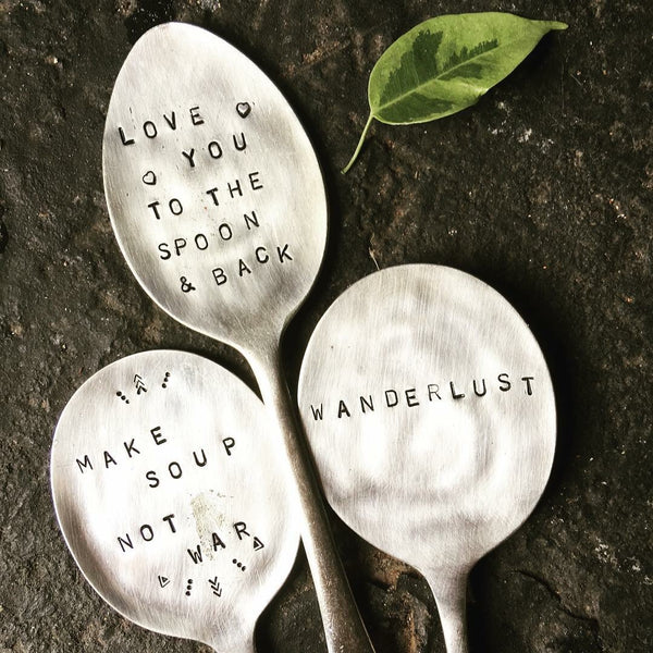 Stamped spoons