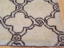 Load image into Gallery viewer, Fine Oriental Geometric Berber Gabbeh Lovely Real Wool Classy Handknotted Unique Rug