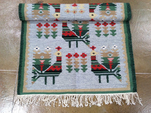 Pictorial Kilim Handmade Gorgeous Handwoven Real Wool Best Classy Amazing Unique Rug