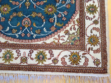 Load image into Gallery viewer, Fine Oriental Hand-Knotted Art Silk Mahal Design Handmade Runner-Rug
