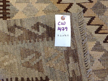 Load image into Gallery viewer, Beautiful Interior-Decorator Southwestern Design Kilim Lovely Flatweave Best Classy Handwoven Real Rug