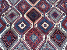 Load image into Gallery viewer, Beautiful Interior-Decorator Fine Oriental Persian Tribal Real Wool Classy Handknotted Unique Rug