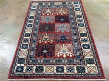 Load image into Gallery viewer, Stunning Handknotted Fine Oriental Peshawar Chobi Tribal Best Real Wool Unique Rug