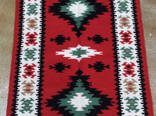 Load image into Gallery viewer, Stunning Handwoven Pretty Handmade Kilim Reversible Real Wool Classy Geometric Design Rug